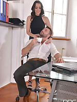 Sarah, Cum In: Super Hot Babe Eases Everyday Office Life free photos and videos on HandsonHardcore.com
